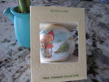 1979 Hallmark Betsey Clark Christmas Tree Trimmer * Satin * Best Seen Box *