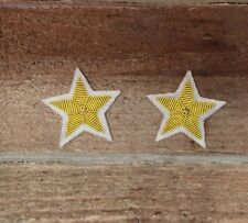 Confederate Officers CSA CS Rebel Collar Stars - Major