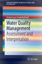 Water Quality Management: Assessment and Interpretation (Paperback or Softback)