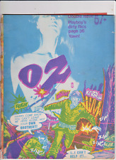 OZ # 8 magazine UK issue January 1968 Alternative Counter-Culture