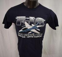 J. America Mens F-16 Fighting Falcon, Shaw AFB, South Carolina Shirt New S