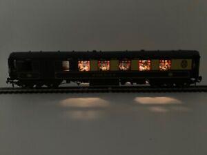 HORNBY RAILROAD 'OO' GAUGE R4313 PULLMAN BRAKE CAR 'CAR NO.65 WITH LIGHTS