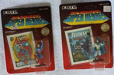 DC Comics Super Heroes  BATMAN and SUPERMAN Die-Cast Metal