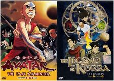 Avatar: The Last Air Bender 1-61 End + The Legend Of Korra 1-52 End English Ver