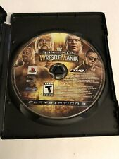 WWE Legends of Wrestlemania Wrestling Playstation 3 PS3 Game Disc Only!
