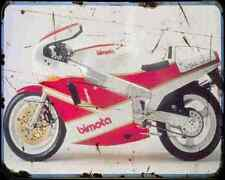 Bimota Yb4 88 2 A4 Metal Sign Motorbike Vintage Aged