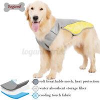 XS-2XL Pet Cat Dog Summer Cooling Vest Chill Jacket Clothes Cool Adjustable L