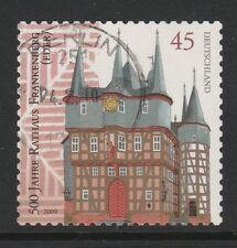Germania 2009 Frankenberg Hall LIBRETTO TIMBRO SG 3574 fu