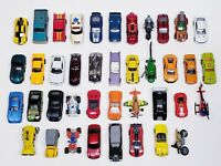 Lot Of 40 Toy Vehicles / Cars Mostly Hot Wheels Matchbox Vintage 80s And Later *