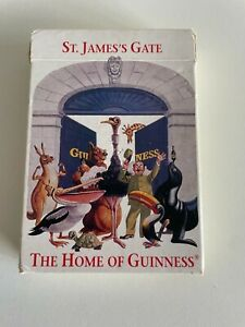 Guinness - St. Jame's Gate Collectable Playing Cards - COMPLETE - Poster Pack