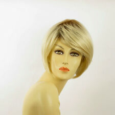 short wig woman very clear smooth golden blond ref: lana ys PERUK