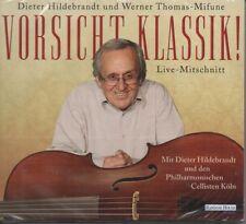 Dieter Hildebrandt - Vorsicht, Klassik ! - Hörbuch - 2 CD - Neu / OVP