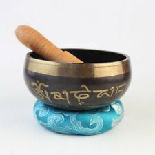 Tibetan Singing Bowl Mat Striker Buddhism Nepal Traditional Meditation Healing