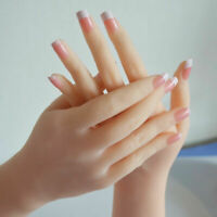 High Quality Realistic Silicone Female Hand Displays Model Mannequin Right Hand