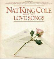 "NAT KING COLE Twenty Greatest Love Songs Collectable Vintage Vinyl 12"" LP KA"