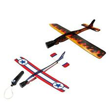 4 Plane Gliders & Launchers Birthday Party Loot Bag Fillers Kids Game Prizes