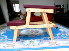 More details for positioning bench self assembly (cane)