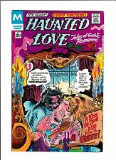 """HAUNTED LOVE #1  [1978 VG+]  """"A KISS TO SAVE HIM FROM THE GRAVE!"""""""