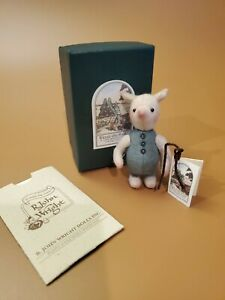 LM R. John Wright Winnie The Pooh Pocket Piglet Pig Mohair LE Plush Doll NEW NIB