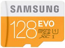 Samsung Evo 128 GB MicroSDXC Class 10 Memory Card (48 Mbs)