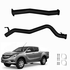 """MAZDA BT50 3.2L TURBO DIESEL 2016< 3"""" INCH DPF BACK EXHAUST WITH PIPE ONLY"""