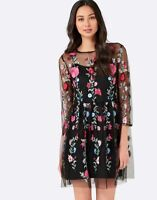 PORTMANS | Womens Floral Embroidered Dress [ Size AU 6 or US 2 ]