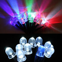 10x Orange LED Light Individual Single Bulb With Attached Pre-wired Bright 12vdc for sale online