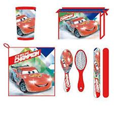 Disney CARS 5pc Child Health - Towel, Cup, Toothbrush Cover, Brush, Bag
