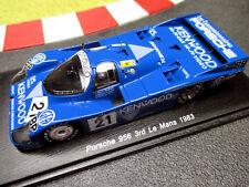 1/43 PORSCHE 956 #21 Andretti/ANDRETTI/Alliot 3rd 24h Le Mans' 83 SPARK s5505 Top