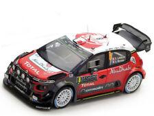 Spark Model 1:43 S5159 Citroen C3 WRC #8 Rally Montecarlo 2017 Lefebvre/Moreau