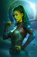 🔥 GUARDIANS OF THE GALAXY #1 GAMORA SHANNON MAER VIRGIN VARIANT PREORDER!
