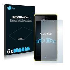 6x Savvies Screen Protector for Sony Xperia M C1904 / C1905 Ultra Clear