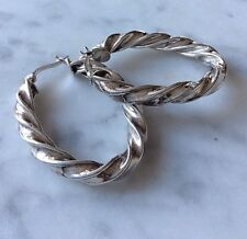 Silver Vintage Earrings Sterling