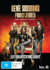 Gene Simmons' Family Jewels : Season 1 (DVD, 2009, 2-Disc Set)--FREE POSTAGE