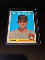 1958 Topps Set Break # 84 Billy O'Dell EX-EXMINT