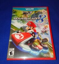 RARE NEW FACTORY SEALED Nintendo Mario Kart 8 for Wii U WiiU Family Fun Racing