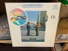 Pink Floyd Wish You Were Here LP CBS Master Sound Half Speed w/stickers VG+