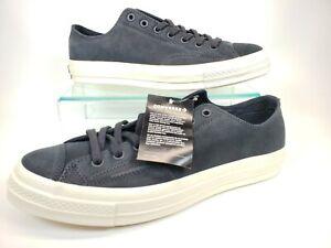 Mens Converse Chuck 70 Ox Low Top Leather Nubuck 161450C Black/Egret Size 10.5
