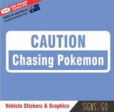 Pokemon Go Sticker Chasing Pokemon Team Mystic Instinct Valor For Car Window