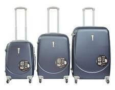 Juego de 3 Maletas ABS de 4 Ruedas rigidas o Set Trolley Candado maleta cabina