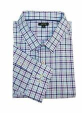 Camicia in Verde a Quadri con Butto Casa Moda-Comfort fit-uomo per il tempo libero 1//2-arm
