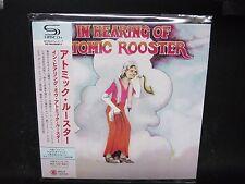 ATOMIC ROOSTER In Hearing Of + 1 JAPAN SHM Mini LP CD Leaf Hound Arthur Brown