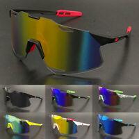 SXY Oversized One Piece Shield Sunglasses Mens Women Outdoor Sport Goggles UV400