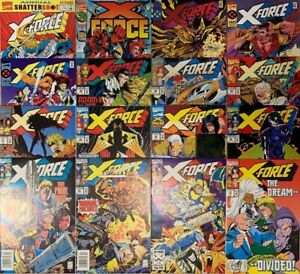 X-FORCE 19-23, 25-30, 40 42 43 47 Annual 1 (1992+) GREG CAPULLO (SPAWN) COVERS