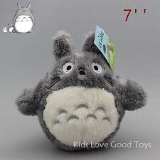 Studio Ghibli Totoro Soft Plush Doll Toy My Neighbor Totoro Kids Gifts 7'' New