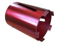 Dry Diamond Drilling Core Drill Bit Turbo Segments