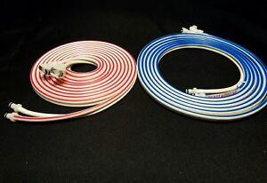 Zimmer ATS 3000 2000.10 FT Tourniquet Hoses 1 set blue and red hose