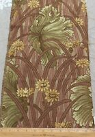 Antique French Art Nouveau Cotton Tapestry Jacquard Fabric Sample~Reserved