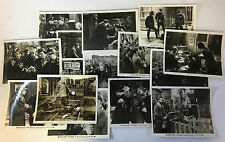 BLACK FURY vintage movie 8x10 photographs ~ lot of 15 ~ PAUL MUNI