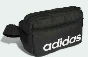 New adidas Linear Core Waist Bag bum crossbody hip bag Black